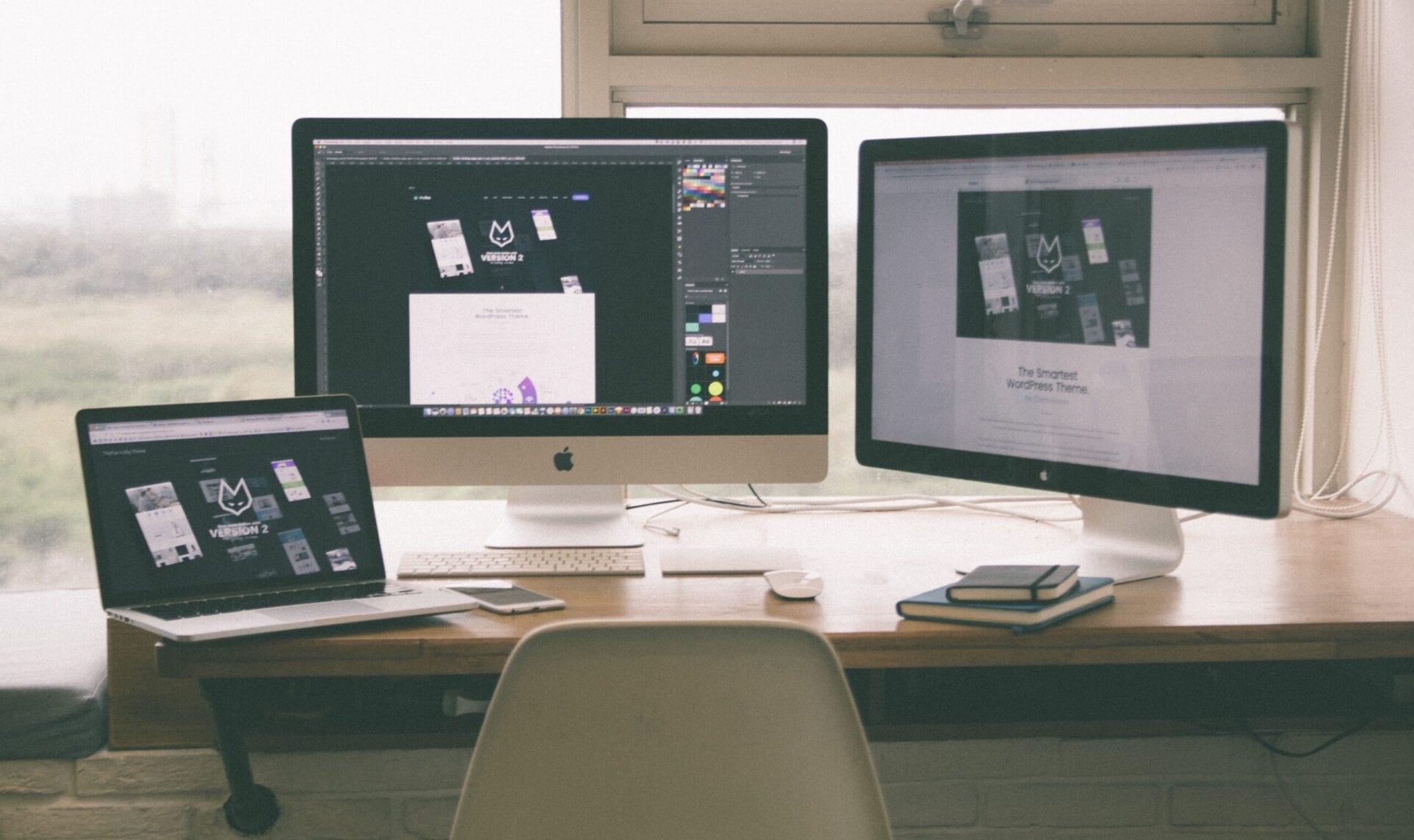 Social Media promotion working though desktops